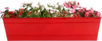 TrustBasket Rectangular Railing Planter Plant Container