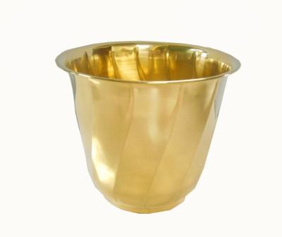 Handicraftscart brass planter rectangle Plant Container