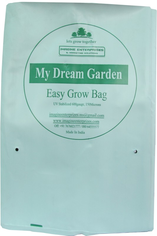My Dream Garden 0777 Plant Container(Polythene, External Height - 40 cm, 24 cm, 24 cm)
