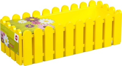 Shrih Yellow 48cm Plastic Window Box Plant Container