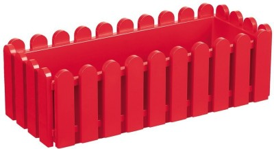 Shrih Red 50cm Plastic Window Box Plant Container