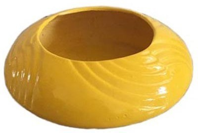 Garden Jewels UFO Planter Yellow Plant Container