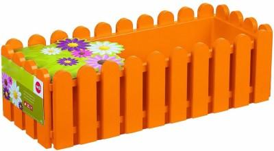 Shrih Orange 50cm Plastic Window Box Plant Container