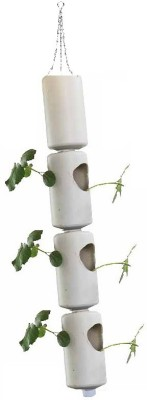 GZ Green Aeroponic Hanging Tube system (3 tube -6 plants ) with water level indicator Plant Container