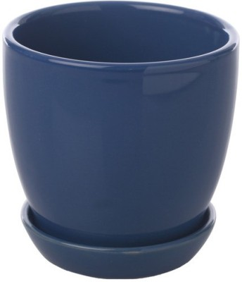 Gaia Pottery Ceramic Glazed Table Top Planter Plant Container
