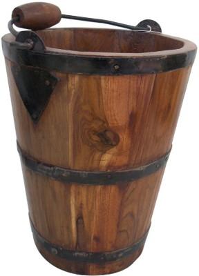 Indune Wooden Bucket Plant Container