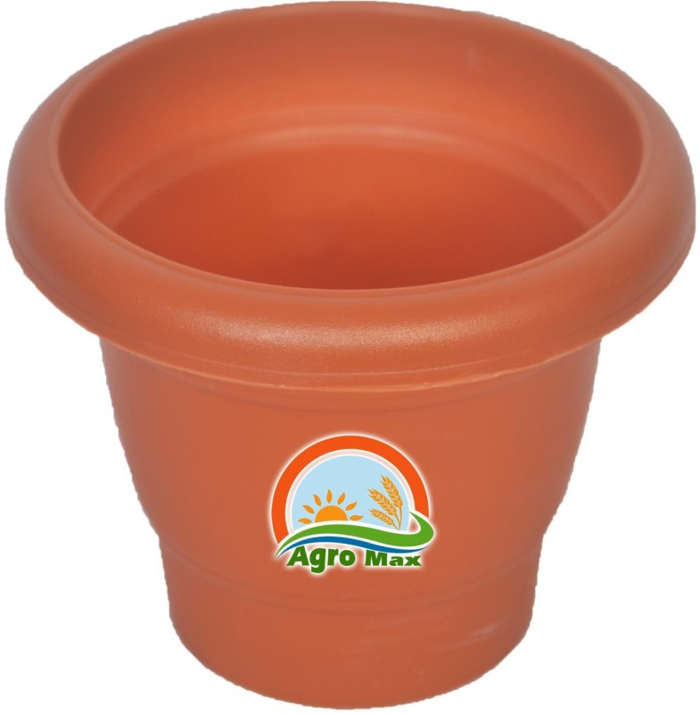 Agro Max Plant Container(Plastic, External Height - 10.1 cm)