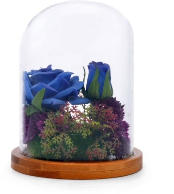 @home glass pot with plant Plant Container