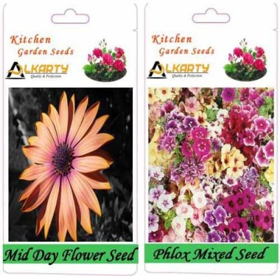 Alkarty Mid Day and Phlox Mixed (Winter) Seed