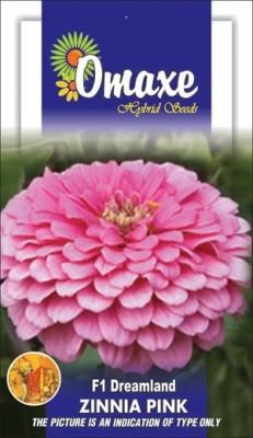 Omaxe ZINNIA F1 ELEGANS PINK SUMMER FLOWER SEEDS-AVG 40/50+ SEEDS BY OMAXE Seed