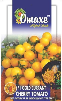Omaxe TOMATO CHERRY GOLDEN YELLOW CURRANT 30 SEEDS PACK Seed