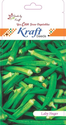 Kraft Seeds Lady Finger F1 Hybrid (3 Gm In 1 Pkt.) Seed