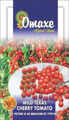 Omaxe TOMATO TEXAS WILD CHERRY 100+ SEEDS PACK BY OMAXE Seed