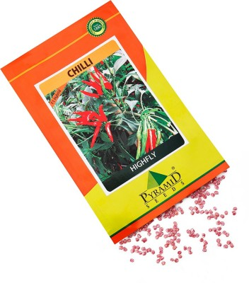 Pyramid Seeds Hybrid Chilli-Highfly Seed