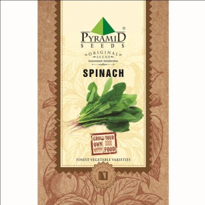 Pyramid Seeds Spinach (Palak) Seed(200 per packet)
