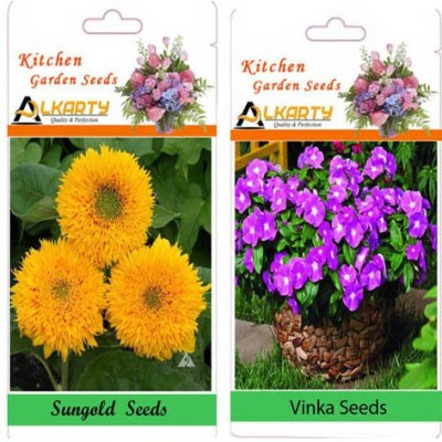 Alkarty Vinca and Sungold (Summer) Seed