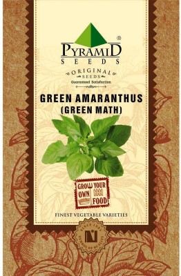 Pyramid Seeds Green Amaranthus (Green Math) Seed