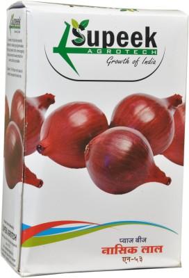 Supeek Agrotech Dark Red (N-53) Onion Seeds Seed