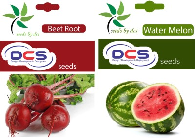DCS Beet Root and Water Melon (2 Pack of 50) Seed