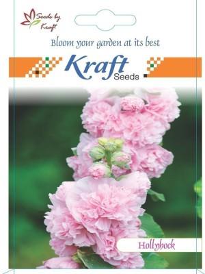 Kraft Seeds Hollyhock Flower Seeds (Pack Of 2) By Kraft Seeds Seed