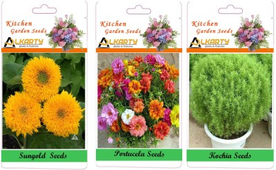 Alkarty sungold, Kochia, Portulaca Seed