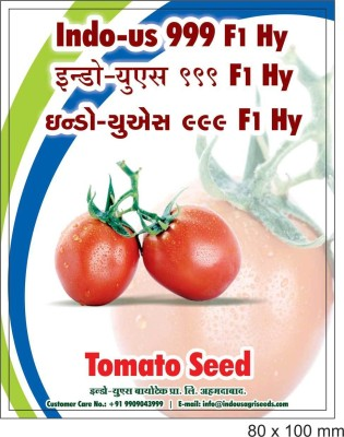 Indous Agriseeds INDOUS 999 F1 Hy.tomato seeds 10 gr.s Seed