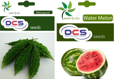 DCS Bitter Gourd and Water Melon (2 Pack of 50) Seed