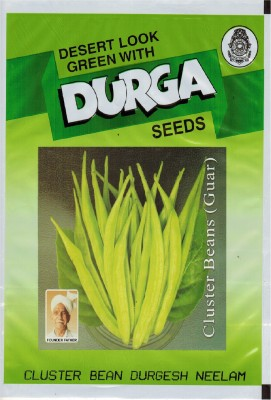 Durga Seeds Cluster Bean (Guar) Durgesh Neelam Seed