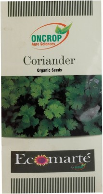Oncrop Agro Sciences Coriander Organic (Pack Of 2) Seed