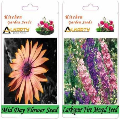 Alkarty Mid Day and Larkspur fire Mixed (Winter) Seed