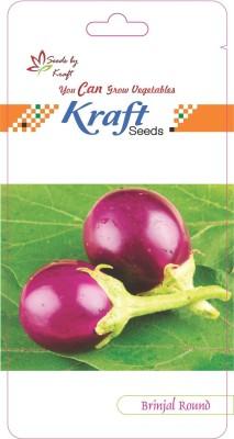 Kraft Seeds Brinjal Round Seed