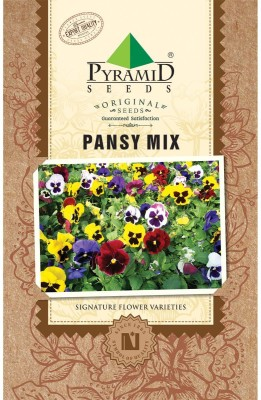 PYRAMID SEEDS Pansy Mix Seed