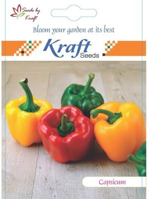 Kraft Seeds Capsicum Red Hybrid Seed