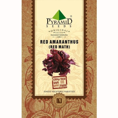 Pyramid Seeds Red Amaranthus (Red Math) Seed