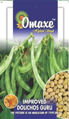 Omaxe DOLICHOS SEMPHALI IMPROVED GURU 30 SEEDS PACK COMBO Seed