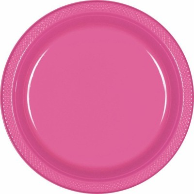 Amscan Party & Celebration Plates Printed Plastic Plate