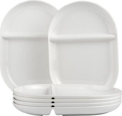 Foodie's Tableware DP0002 Solid Plastic Plate