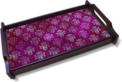 Kolorobia Riveting Tyrian purple Solid Wood Tray