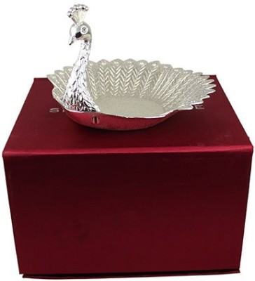 Aurazstore Solid Silver Plated Tray