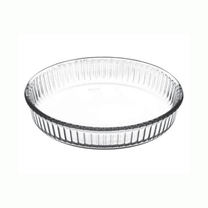 Pasabahce Borcam Round Small 59044 Solid Glass Tray Borcam Round Small 59044