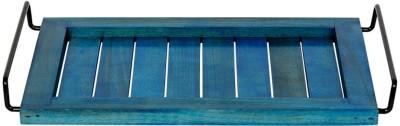 ExclusiveLane Elegant Engraved Wood Tray