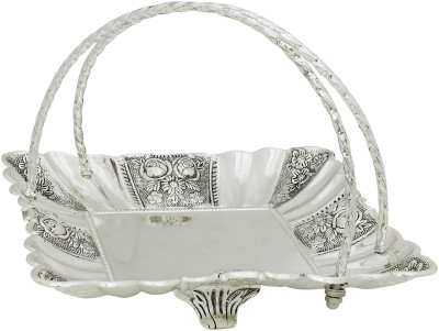 K.S Royal serving tray Engraved Stainless Steel Tray