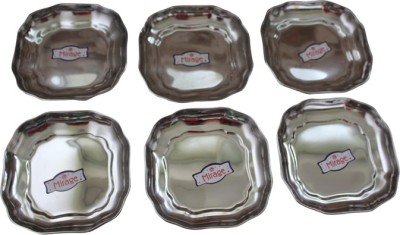 nageshwar Solid Stainless Steel Dish Set