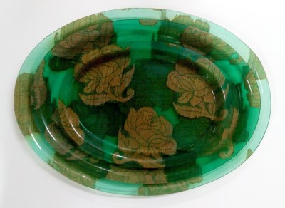 Chhajer Handicraft Air India trays Printed Plastic Tray Set