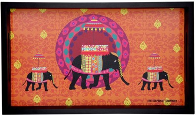 The Elephant Company Butti Printed Wood Tray