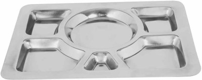 Montstar Mess Tray - 30 x 40cm Solid Stainless Steel Plate