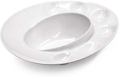 Hua You Solid Melamine Dish(Multicolor, Pack of 1)