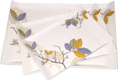 MAYFAIR Automn Leaves LT03 Printed Melamine Tray Set