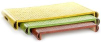 Unravel India Solid Bamboo Tray Set(Multicolor, Pack of 3) best price on Flipkart @ Rs. 2999