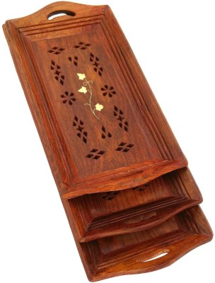 Shilpi Solid Wood Tray